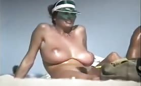 Nude Milf with huge tits